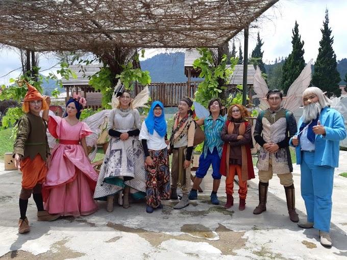 Menjelah Dunia Dongeng di Fairy Garden