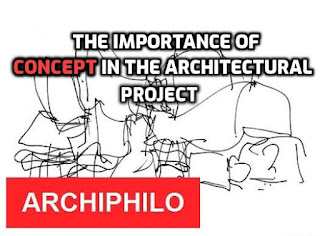 The importance of concept in the architectural project