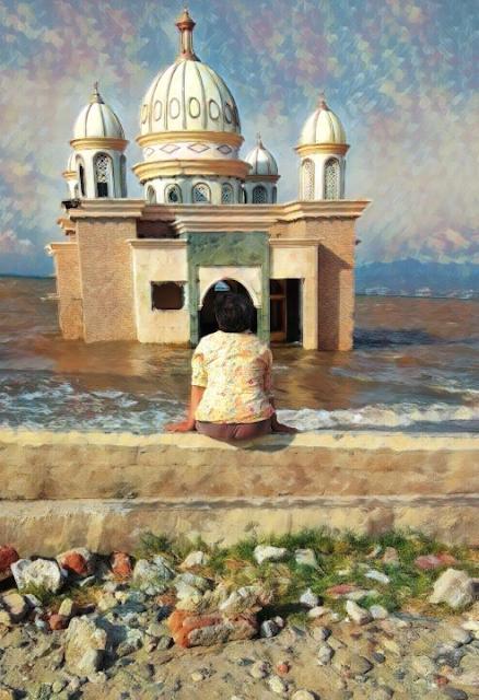 Masjid Apung Arqam Baburahman, Palu