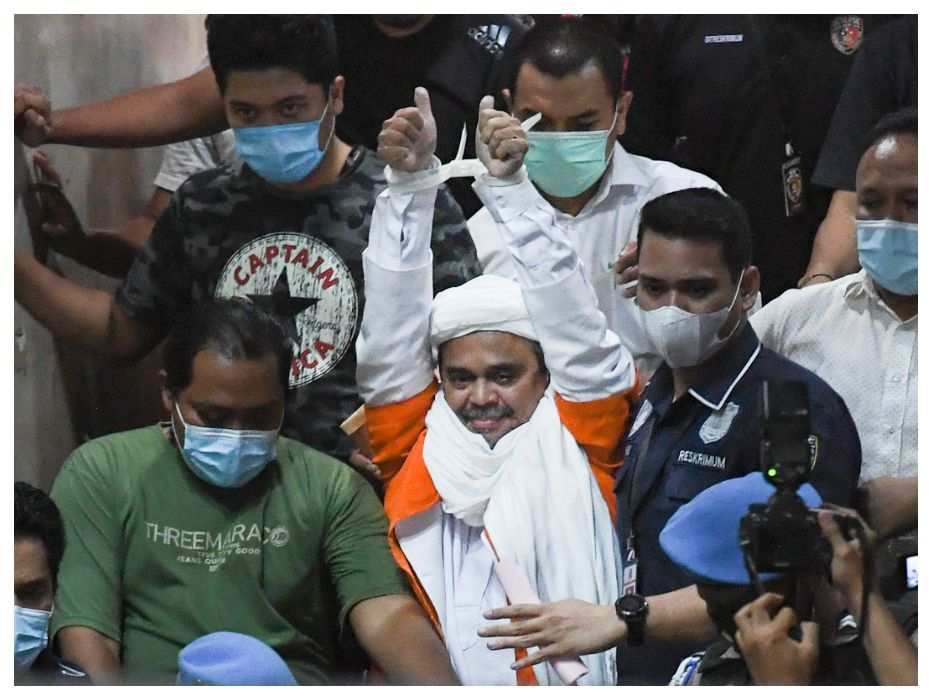 Jaksa Sebut Gegara Kerumunan Habib Rizieq Shihab Kabupaten Bogor Jadi Zona Merah