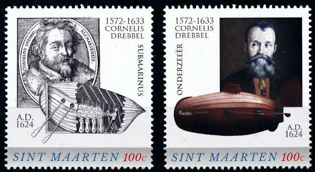 St. Maarten 2016 Cornelis Jacobsz Drebbel inventor Submarine