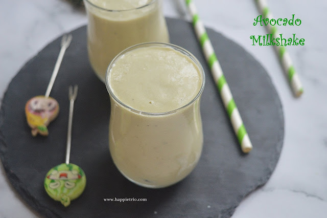 Vegan Avocado Milk shake Recipe | Avocado Milkshake