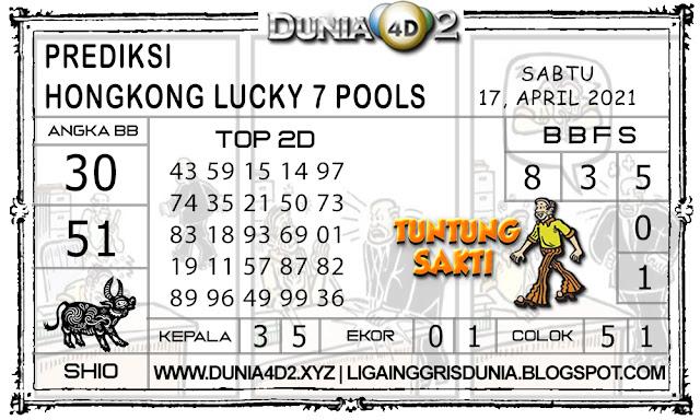 Prediksi Togel HONGKONG LUCKY7 DUNIA4D2 17 APRIL 2021