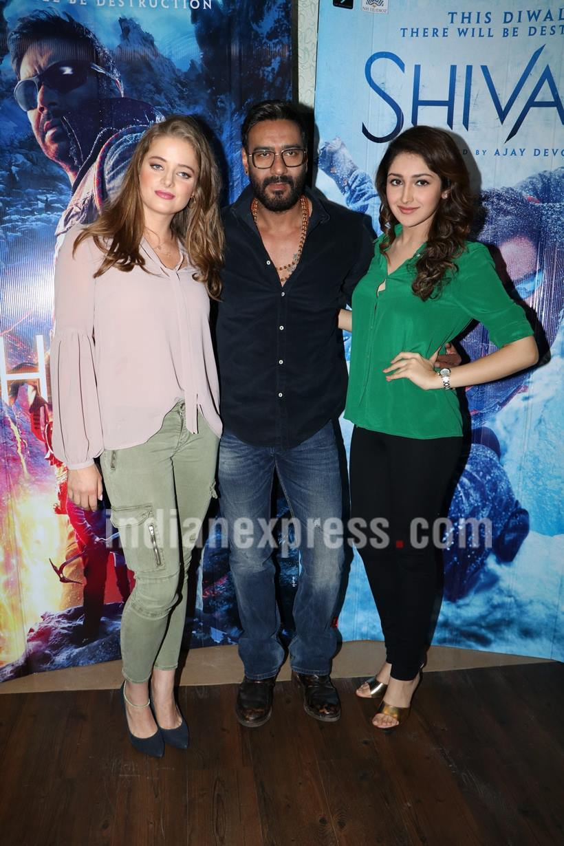 Actors of Shivaay | Official Trailer | Ajay Devgn - Sayesha Saigal Latest Pics