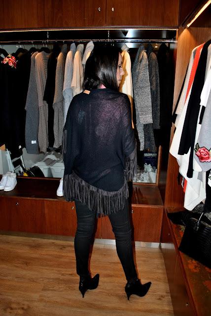 tejidos, abrigos, ponchos, oklan, acorta shopping, fashion, fashion blogger, grupo brandy, tendencias, como llevar un poncho, ruanas, Asesora de Imagen