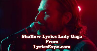 Shallow Lyrics Lady Gaga