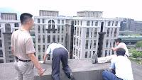縮時攝影-工程建築