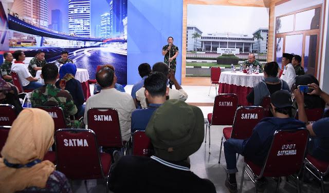 Puspen TNI Gelar Buka Puasa Bersama Insan Pers