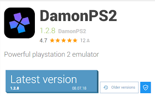 DAMON PS2 1.2.8 LATEST VERSION WITH BIOS - PS2 Emu for Android