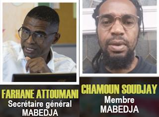 Les deux membres de Mabedja risquent jusqu'à 20 ans de prison