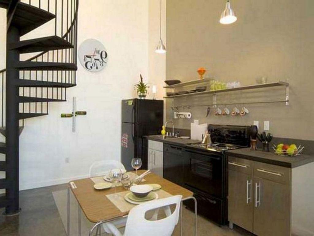 Meja Kecil Di Dapur Desainrumahid com