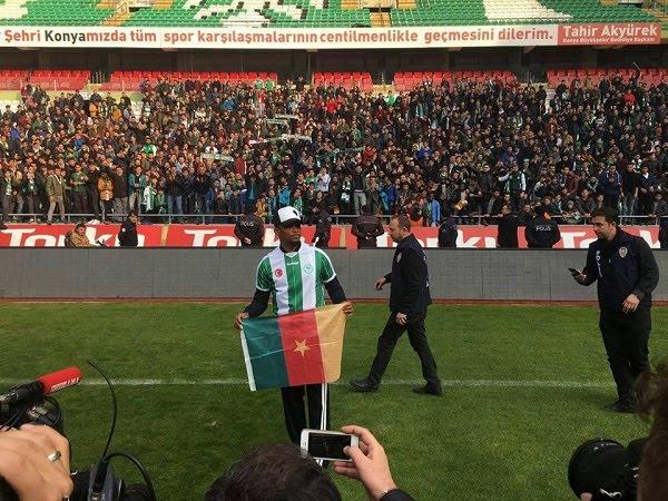 Turquie: présentation officielle de Samuel Eto'o, la nouvelle recrue de Konyaspor (Photos)