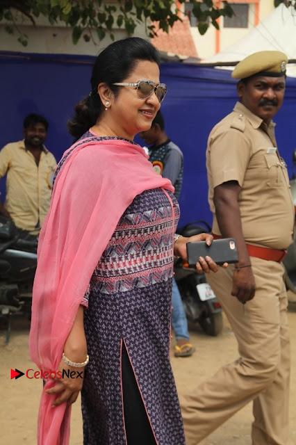 Actress Radhika Sarathkumar Pos at Producer Council Election 2017  0002.jpg