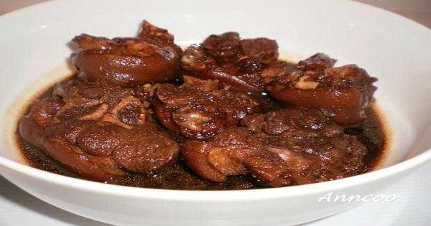 Braised Pork Leg Recipe