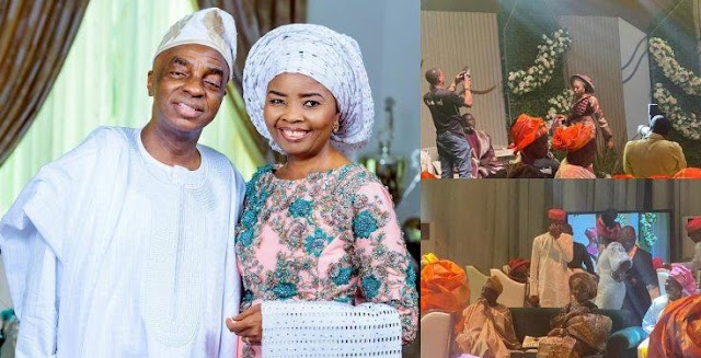 Bishop Oyedepo Gives Out Daughter's Hand In Marriage And On His 38th Wedding Anniversary Day (Photos)