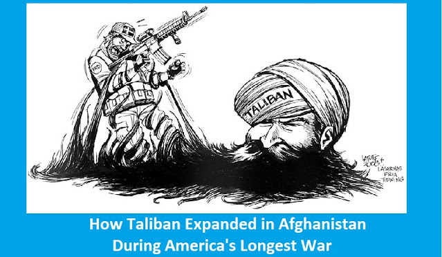 How Taliban Expanded in Afghanistan During America's Longest War