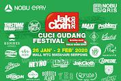 Jakcloth Cuci Gudang Festival Mall WTC Matahari Serpong 26 Januari - 2 Februari 2020