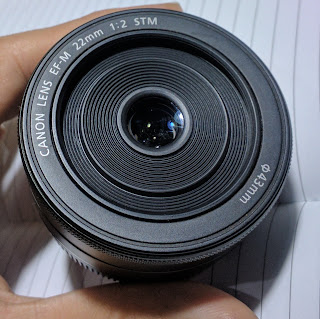 Lensa FIX 22mm F2 STM For Canon Second