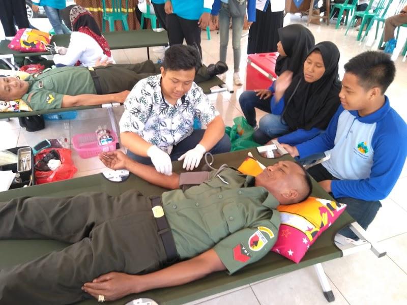 Peringati Hari Juang Kartika Ke- 74, Kodim 0819 Berpartisipasi Donor Darah