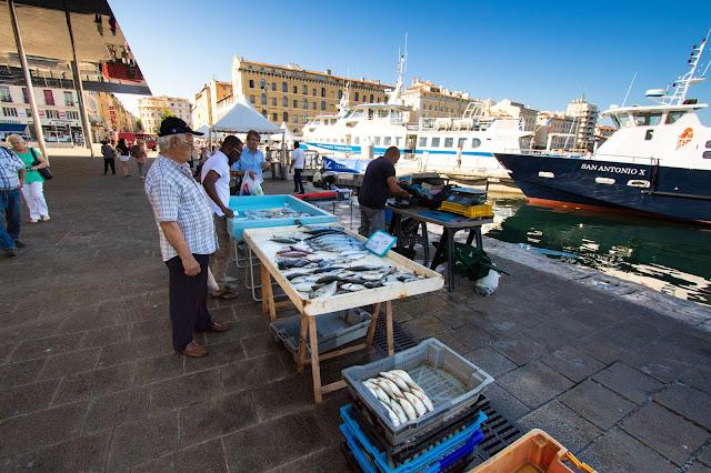 Mercato del pesce-Quais des Belges-Marsiglia
