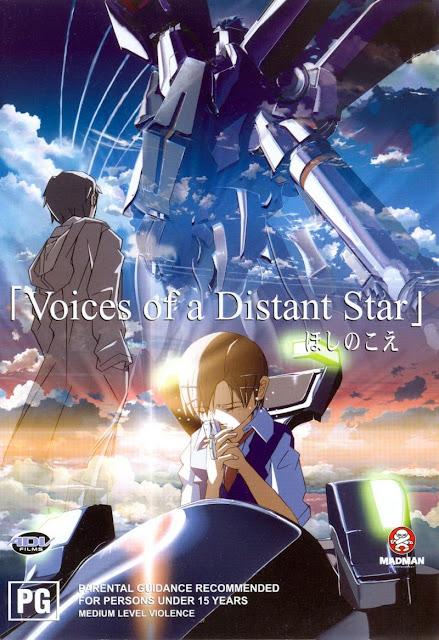 Voces de una Estrella Distante / Hoshi no koe (ほしのこえ) de Makoto Shinkai.