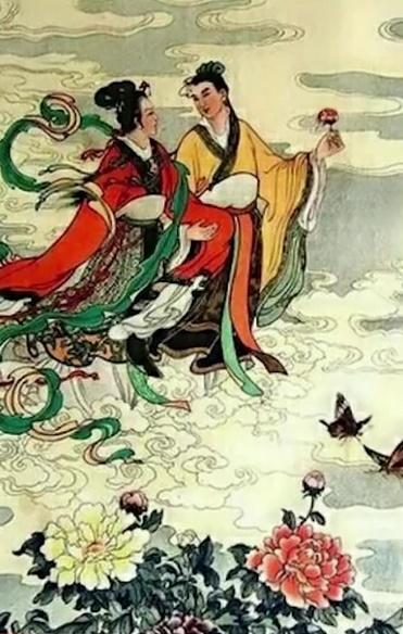 Chinese Gods and Goddesses Niu Lang & Zhi Nu Ahh