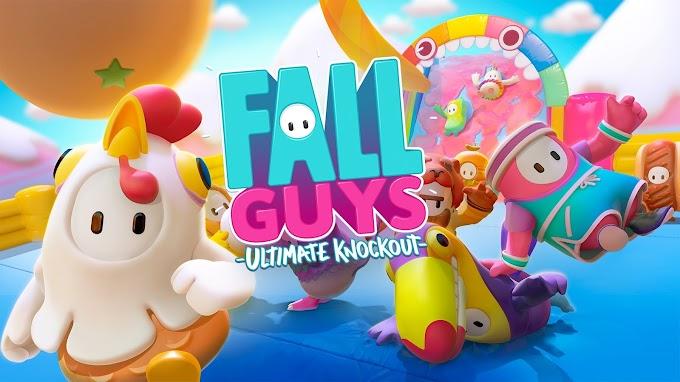 Sorteio do Jogo Fall Guys