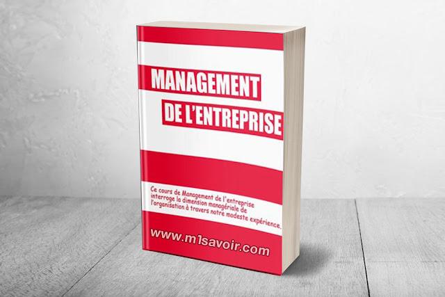 Management de l'entreprise Cours – Pourquoi ce cours ?