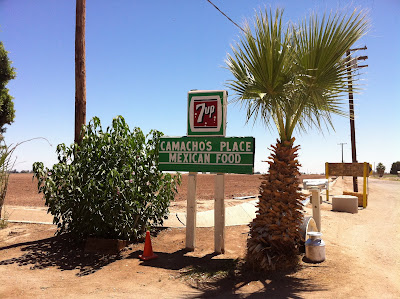 Camacho's Place Sign