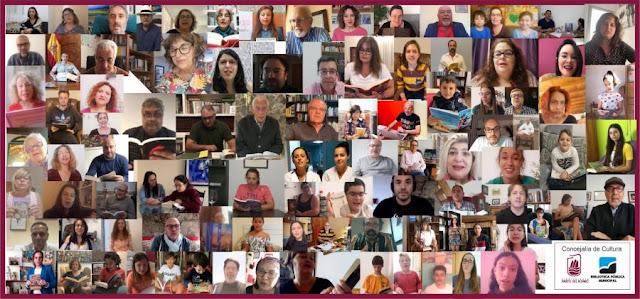 COLLAGE%2B24%2BHORAS%2BLECTURA - Fuerteventura.- Más de 300 intervenciones en el maratón de lectura que organiza la Biblioteca de Puerto del Rosario