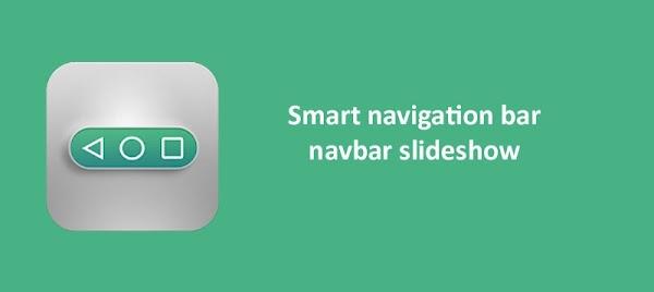 Smart navigation bar - navbar slideshow 1.10 APK