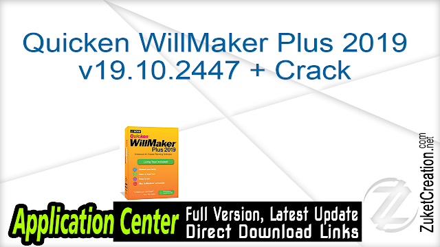 Quicken WillMaker Plus 2019 v19.10.2447 + Crack