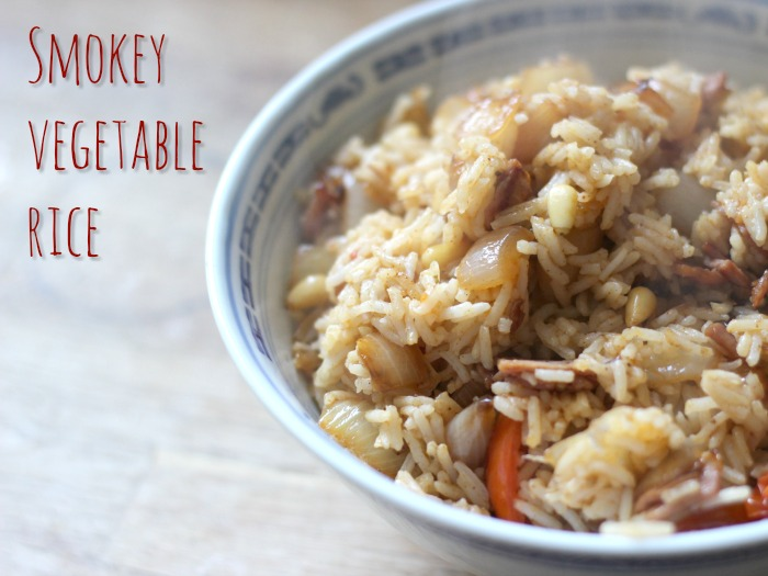 smokey vegetable rice