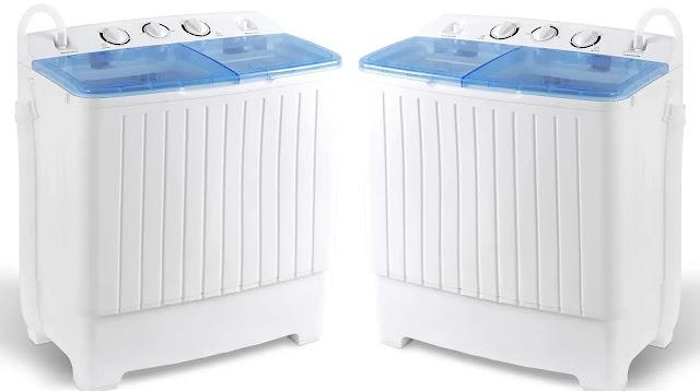 3- SUPER DEAL Compact Washing Machine