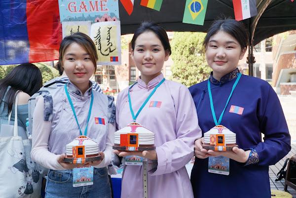 大葉大學玩轉世界嘉年華 境外生展示八國文化