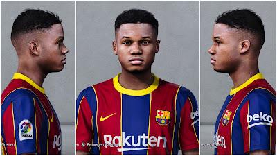 PES 2020 Faces Ansu Fati ~ SoccerFandom.com | Free PES ...