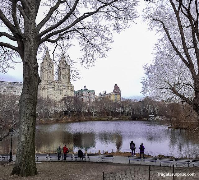 Lago do Central Park, Nova York