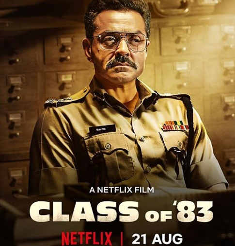 बाॅबी देओल की फिल्म Classof83 का First look  आया सामने, इस दिन होगी रिलीज