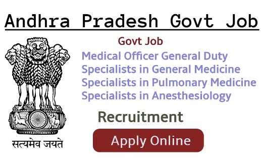 DME AP 1184 Specialist and GDMO Online Recruitment Form 2020.