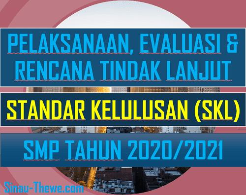Pelaksanaan Evaluasi Rencana Tindak Lanjut Skl Smp Tahun 2020 2021 Sinau Thewe Com