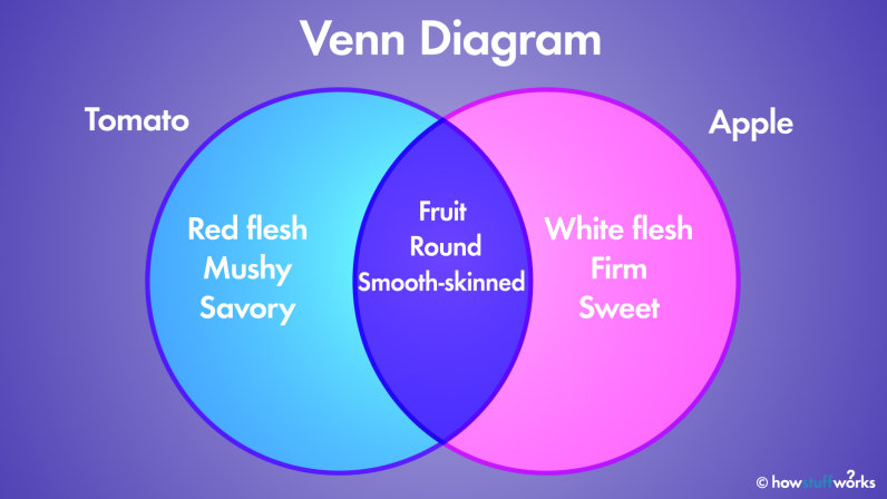 Diagram The Venn Diagram How Overlapping Figures Can Illustrate