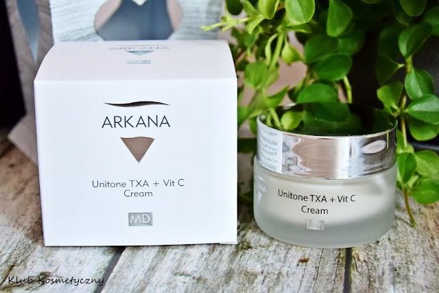 Arkana Unitone TXA + Vit C, krem z kwasem traneksamowym
