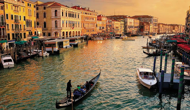 De turismo por Venecia