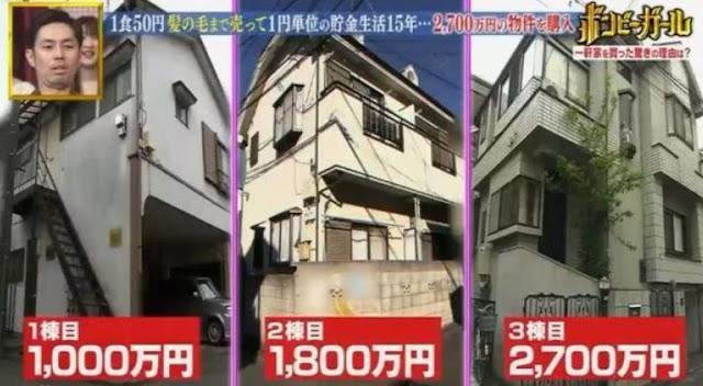 Hidup Serba Irit dan Makan Makanan Murah, Wanita Jepang Ini Berhasil Menabung untuk Beli 3 Rumah!