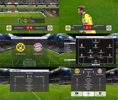 PES 2020 DFL-Supercup Scoreboard by 1002MB
