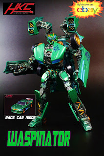 Custom WASPINATOR Transformers the Last Knight concept figure by HKC