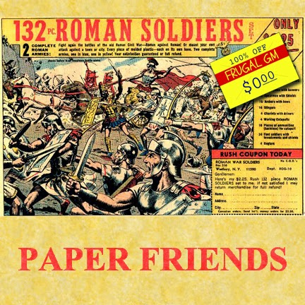 Free GM Resource: Paper Friends