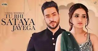 Tu Bhi Sataya Jayega Lyrics - Vishal Mishra ft. Jasmin Bhasin
