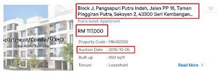 Rumah, Apartmen dan Flat Lelong di Selangor