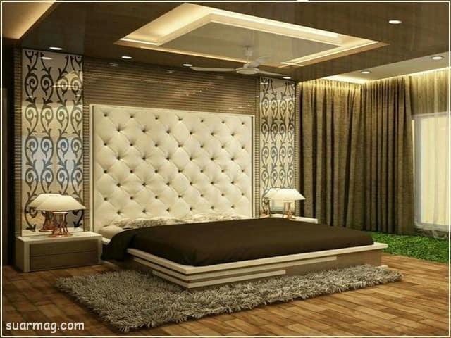 اسقف جبس بورد حديثة غرف نوم 5   Bedrooms Modern Gypsum Ceiling 5